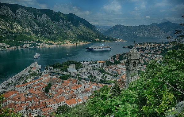 Amazing view on Bay of Kotor