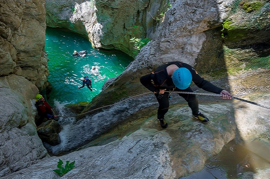 Canyoning near the sea - the best choice for your adventure