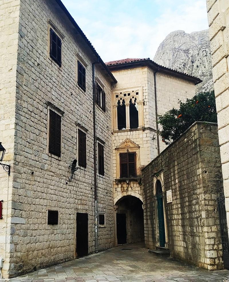 Narrow streets of Kotor