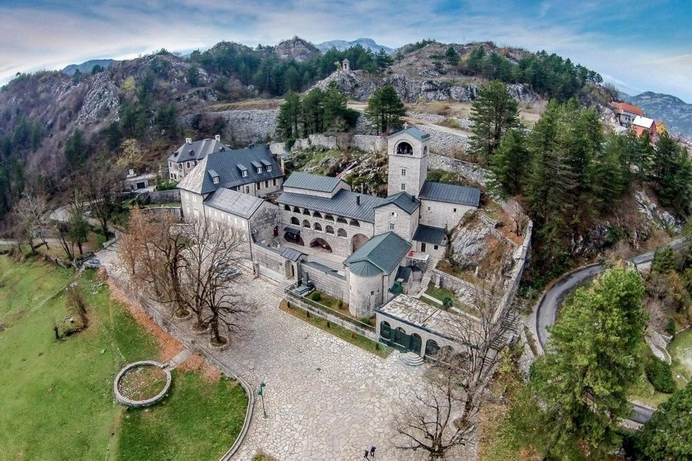 The right hand of St. John the Baptist and numerous relics are kept in the Cetinje Monastery