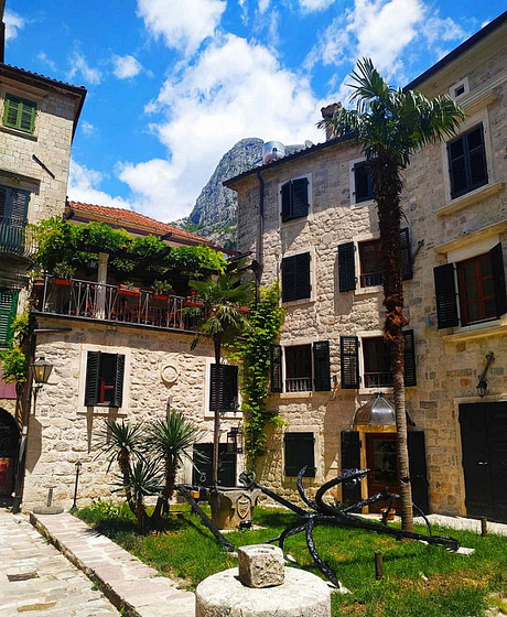 Uske ulice Kotora