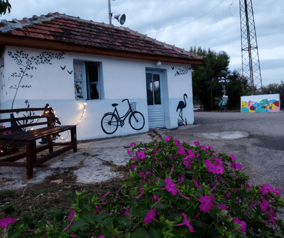 Ulcinj Salina you can also circle by bicycle